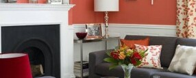 Coral Palettes Spring into Homes